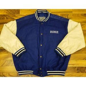 Vintage Duke Letterman Jacket. AMAZING! Rare! Wow!